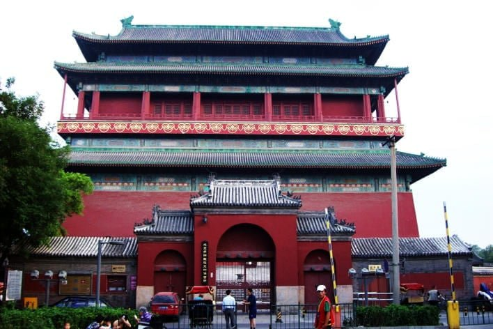 Torre Tambor Beijing