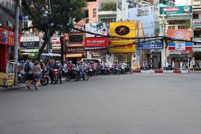tráfico en Vietnam