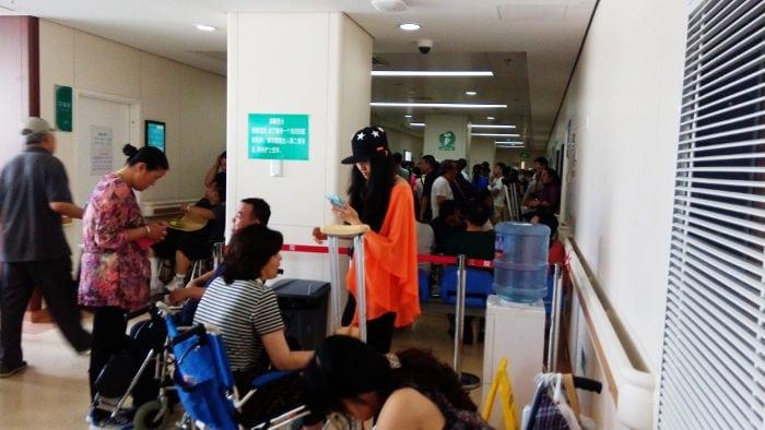 hospitales china