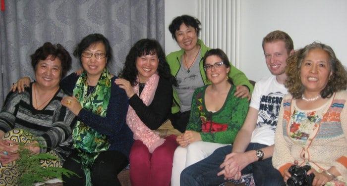 vivir con una familia china