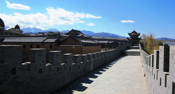Liqian town founded by Roman legionnaires