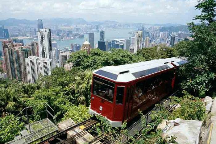 Turismo Hong Kong Peak Tram