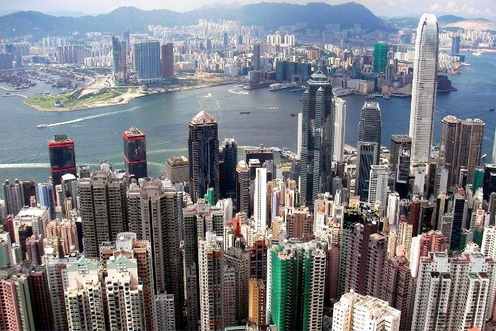 Que ver en Hong Kong Central desde el Victoria Peak