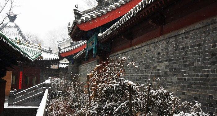 templo shaolin meca kungfu chino