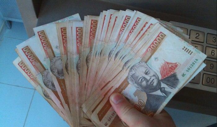 moneda laos kip