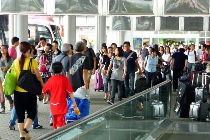 Frontera de Shenzhen Hong Kong