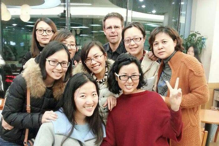 enseñar inglés a los chinos