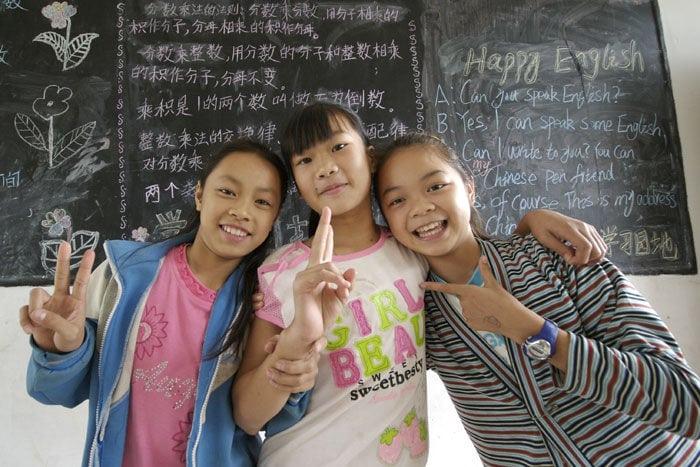 enseñar inglés China