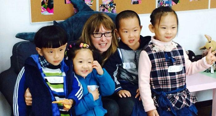 enseñar inglés en china