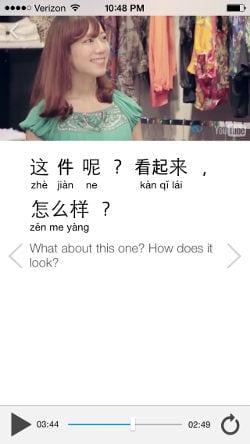 la mejor forma de aprender chino con vídeos