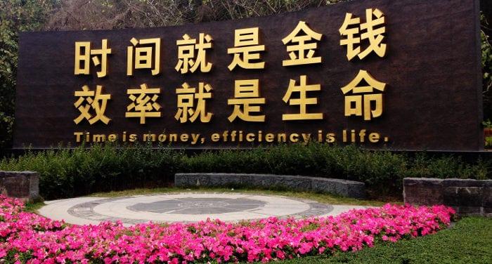 trabajar para un jefe chino
