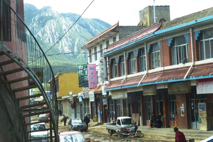 La calle principal de Langmusi