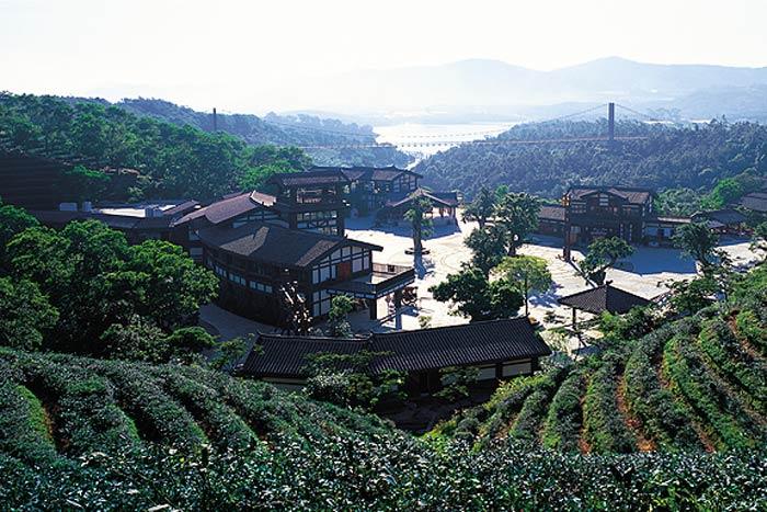 Valle de té en OCT East