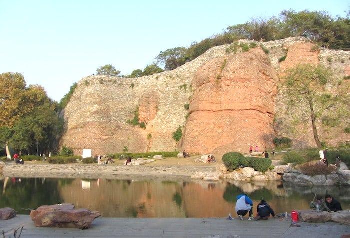 El parque Stone City Ruins