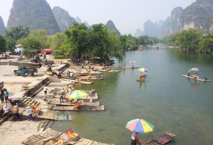 río li en yangshuo
