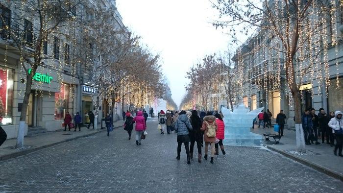 Calle Central en Harbin