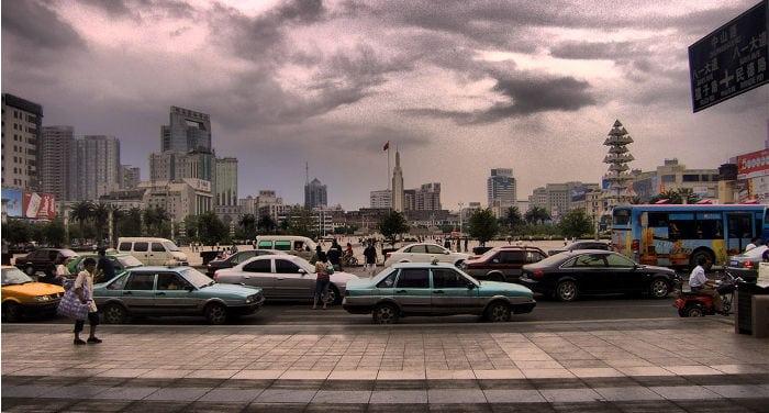 Ciudades chinas de tercera