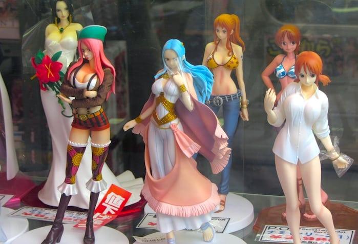 Una tienda de manga en Akiba