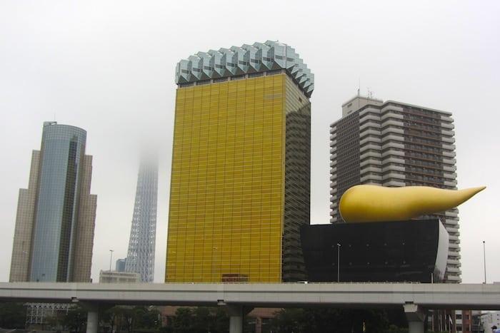 Asahi Beer Tower y Asahi Super Dry Hall