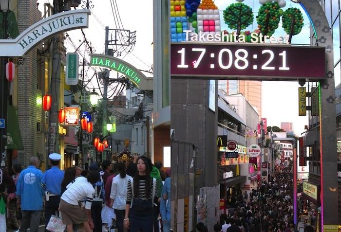 Harajuku y la Takeshita dori