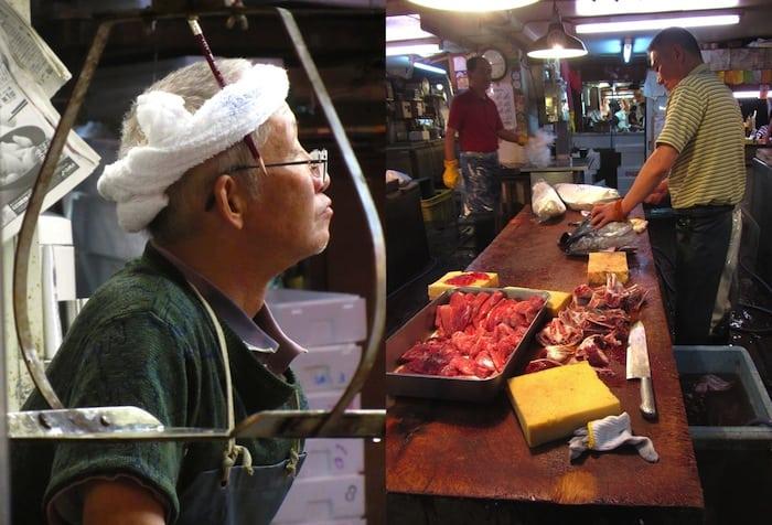 El mercado de pescado de Tsukiji