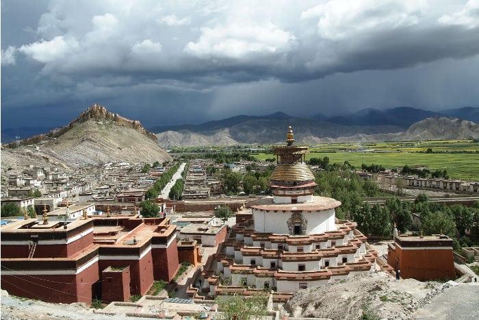itinerarios de viaje al Tibet