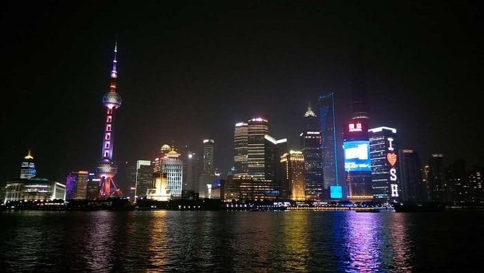 Perfil urbano de Shanghai