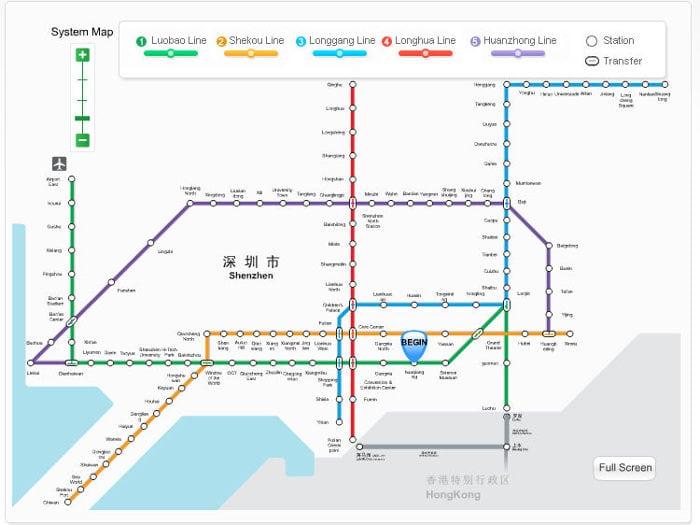 metro de shenzhen