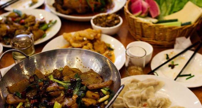 etiqueta en los restaurantes chinos
