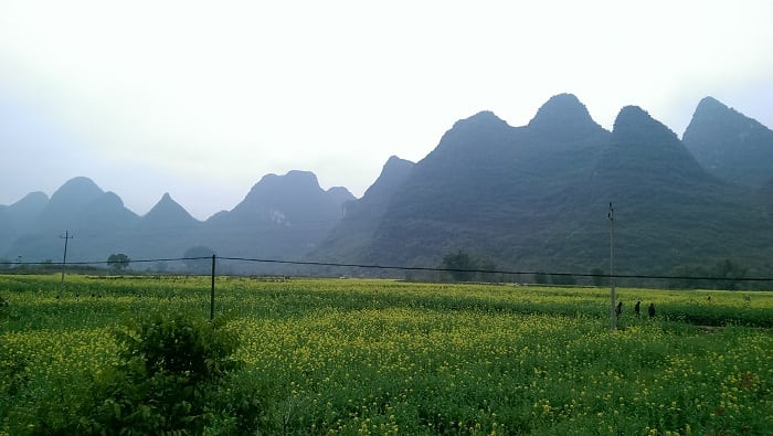 El pueblo de Yangshuo