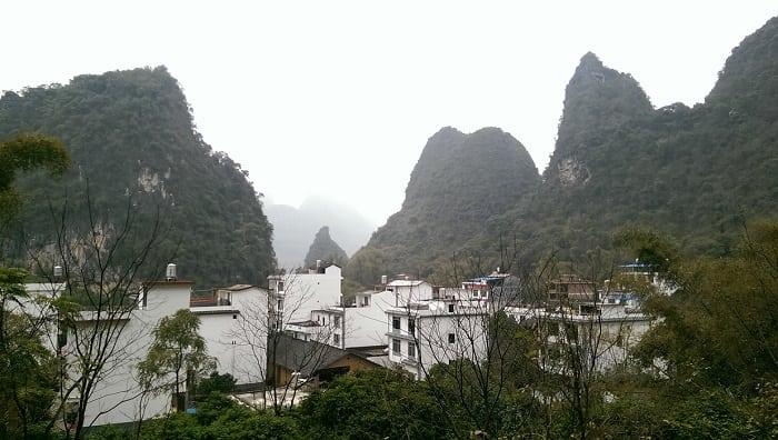 escalada en Yangshuo