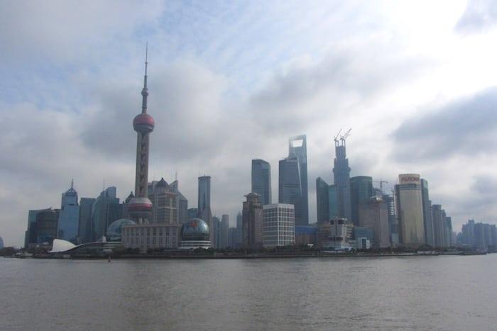 De compras en Shanghai