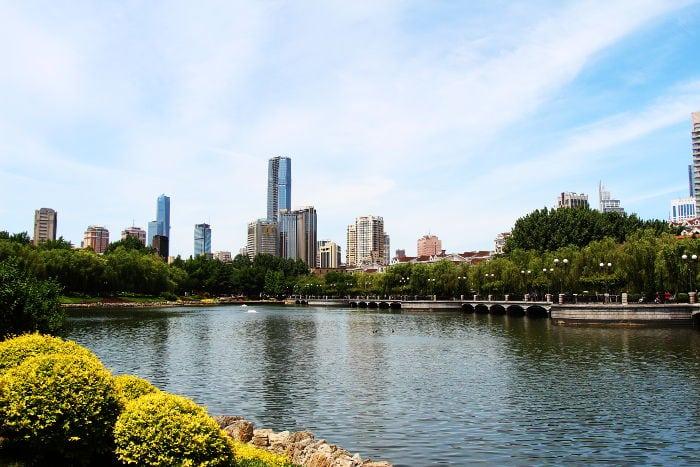 Parque Ertong Dalian