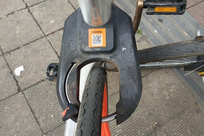 bicis publicas china