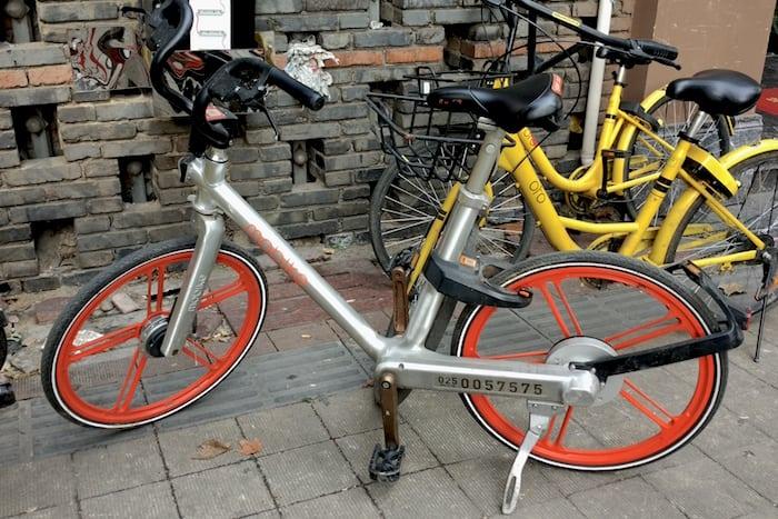 bicicletas compartidas china