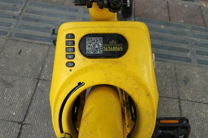 usar bicicletas compartidas china