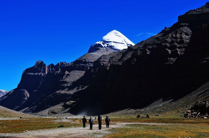 Vista de la Kora de Kailash