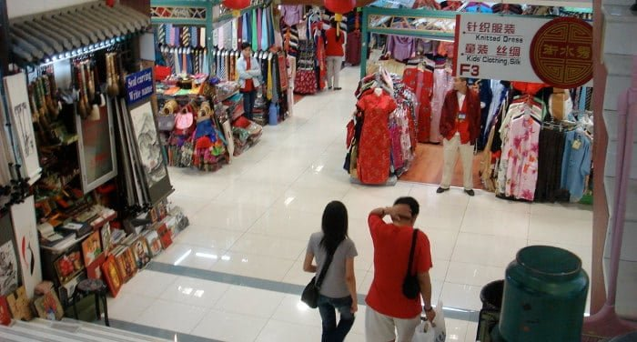 Mercado de falsificaciones en China