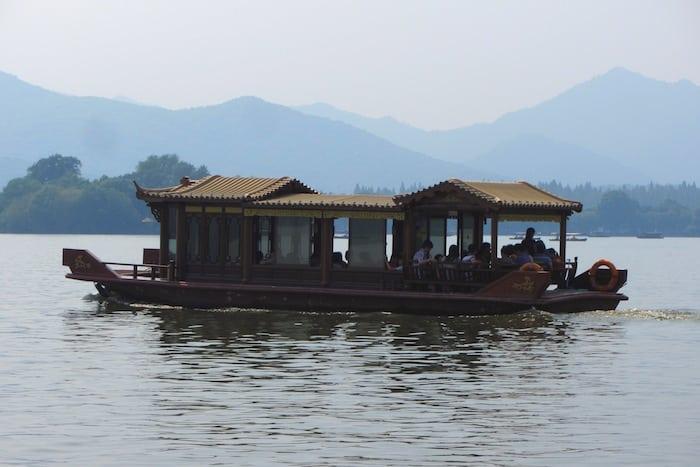 Los barcos del lago