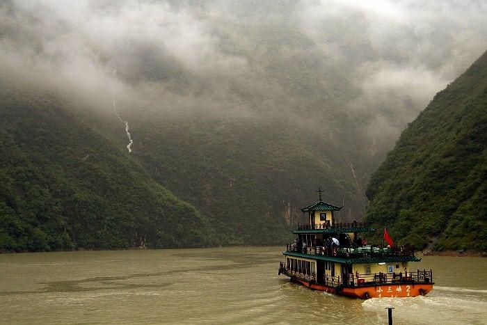 Las tres gargantas Chongqing