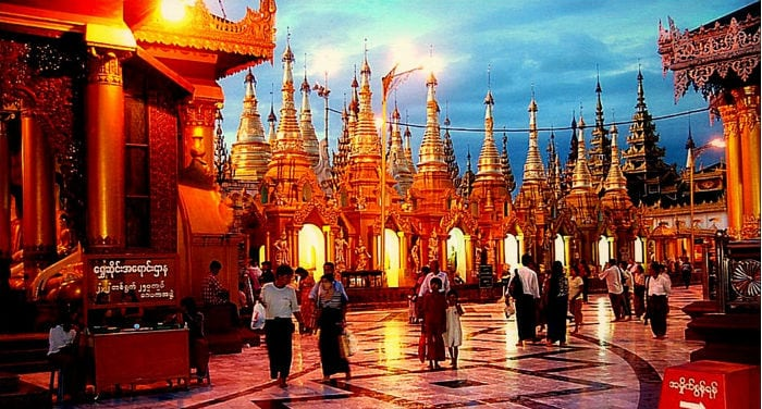 Viaje a Rangún