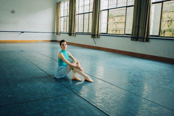 Profesora de danza clásica en China