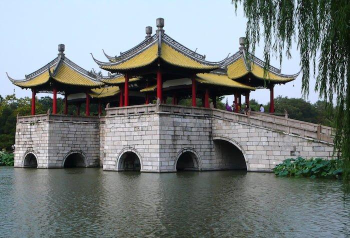 Slender West Lake en Yangzhou