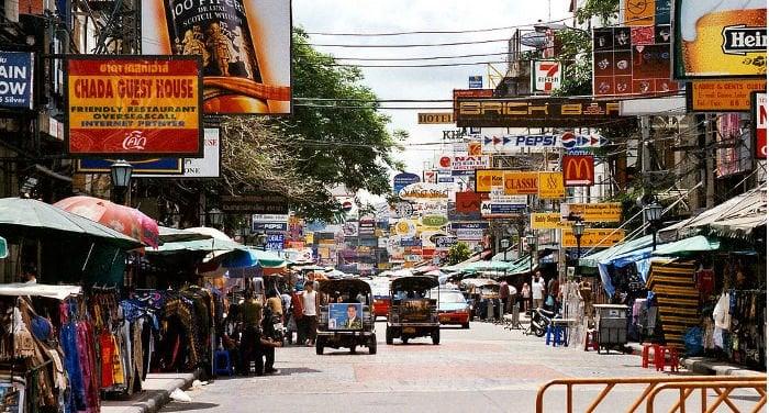 Guía de Khao San Road