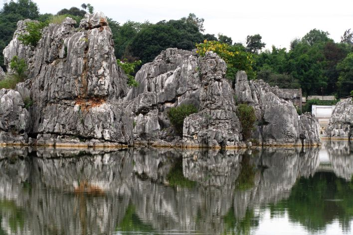 foresta di pietra Kunming