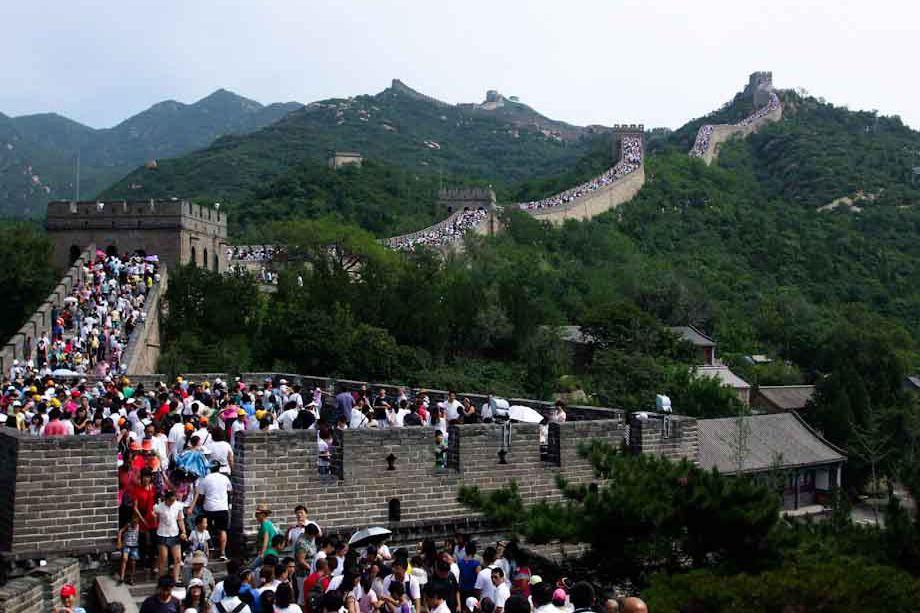 turisti cinesi