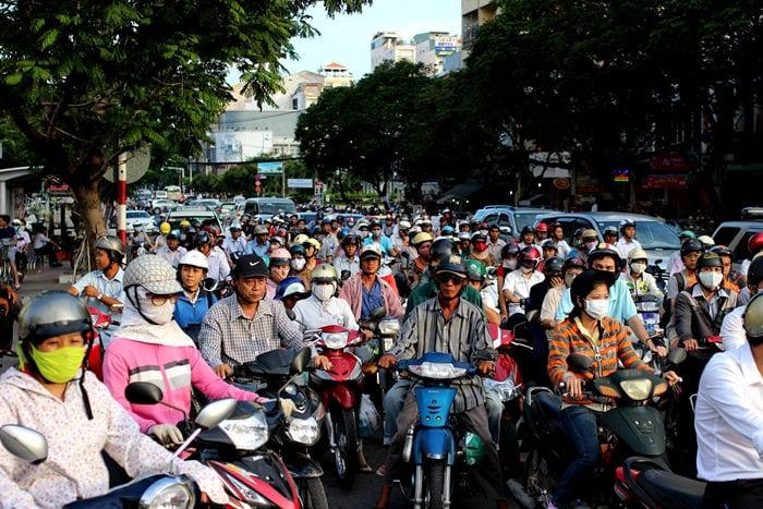 Traffico in Vietnam