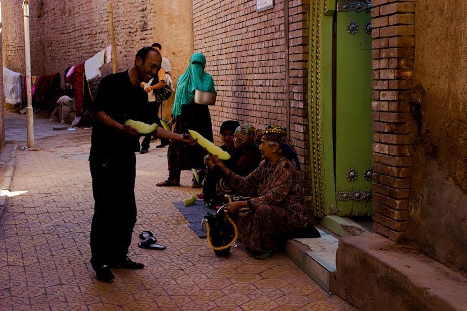 Kashgar, Città Vecchia