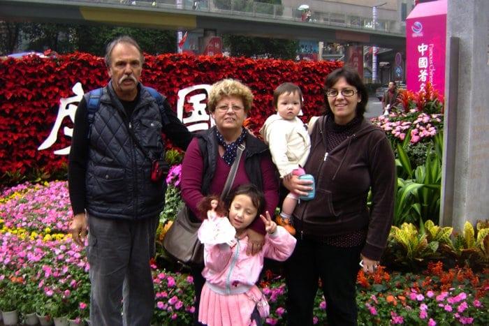 La famiglia di Ileana