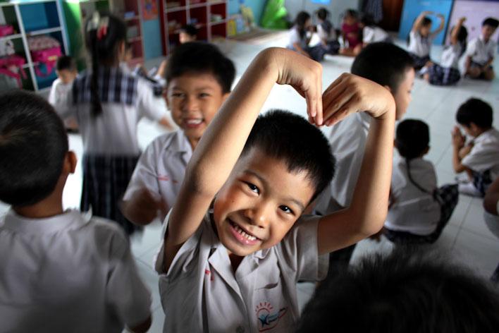 insegnare part-time in Thailandia